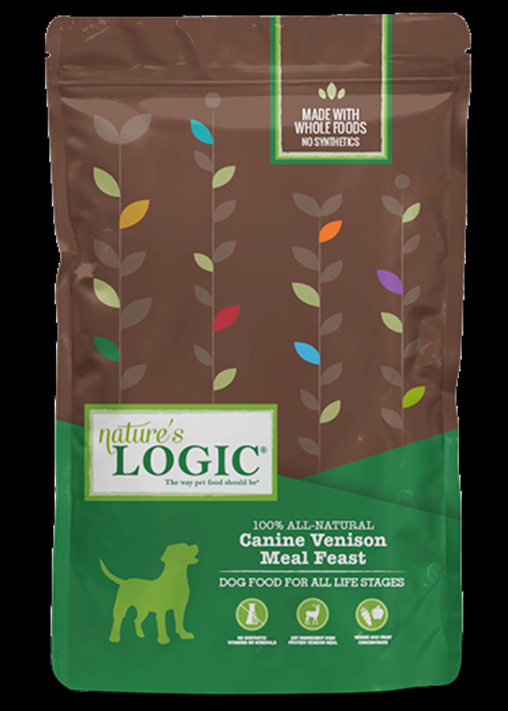 Nature's Logic Nature's Logic Canine Venison Meal Feast Dry Dog Food 4.4lbs