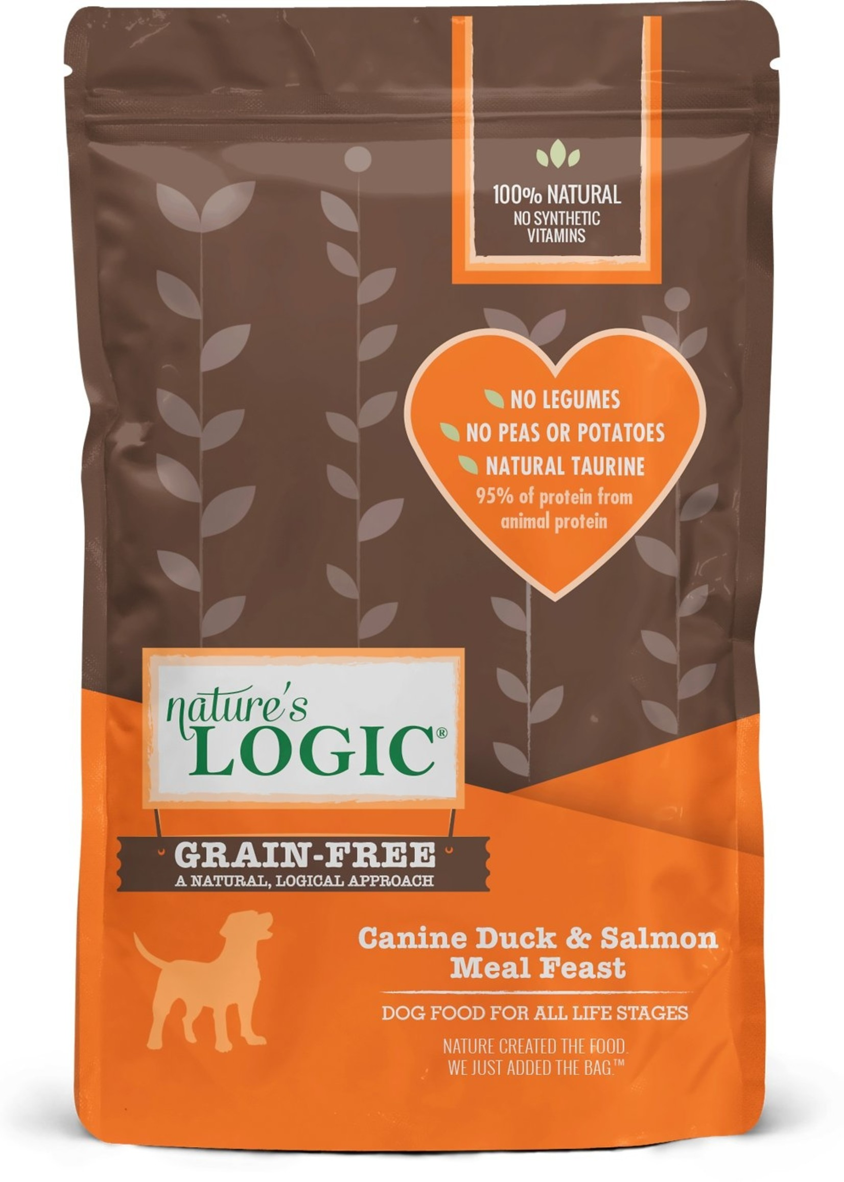 Nature's Logic Nature's Logic Duck & Salmon Meal Feast Dry Dog Food 4.4lbs