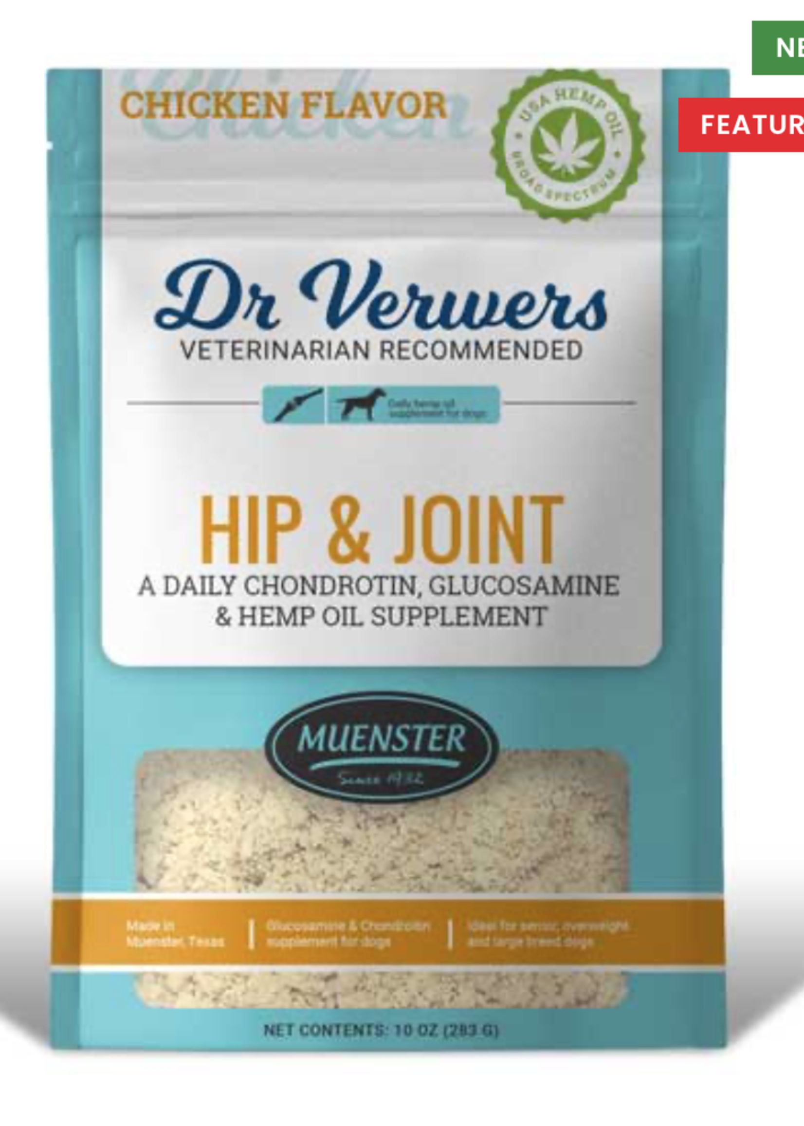 Muenster Milling Co Dr Verwers Hip & Joint Chicken 10oz