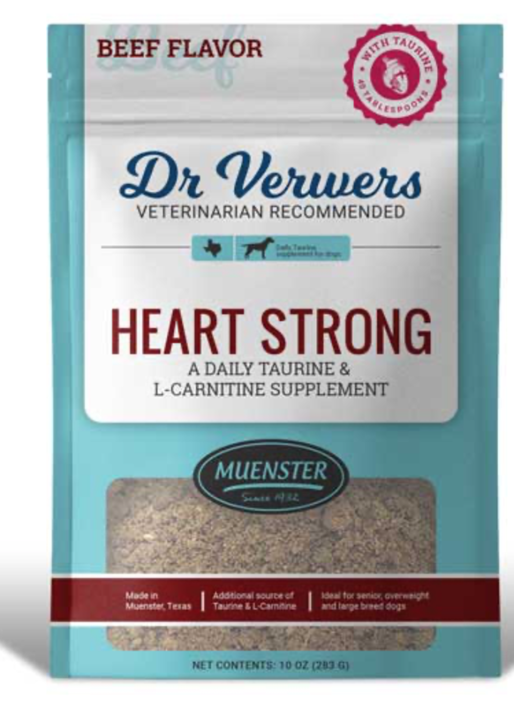 Muenster Milling Co Dr Verwers Heartstrong Beef 10oz
