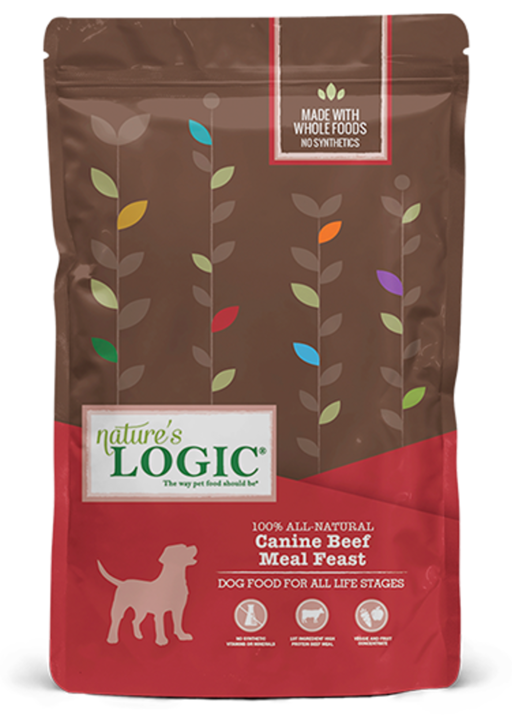 Nature's Logic Nature's Logic Beef Meal Feast Dry Dog Food 25lbs