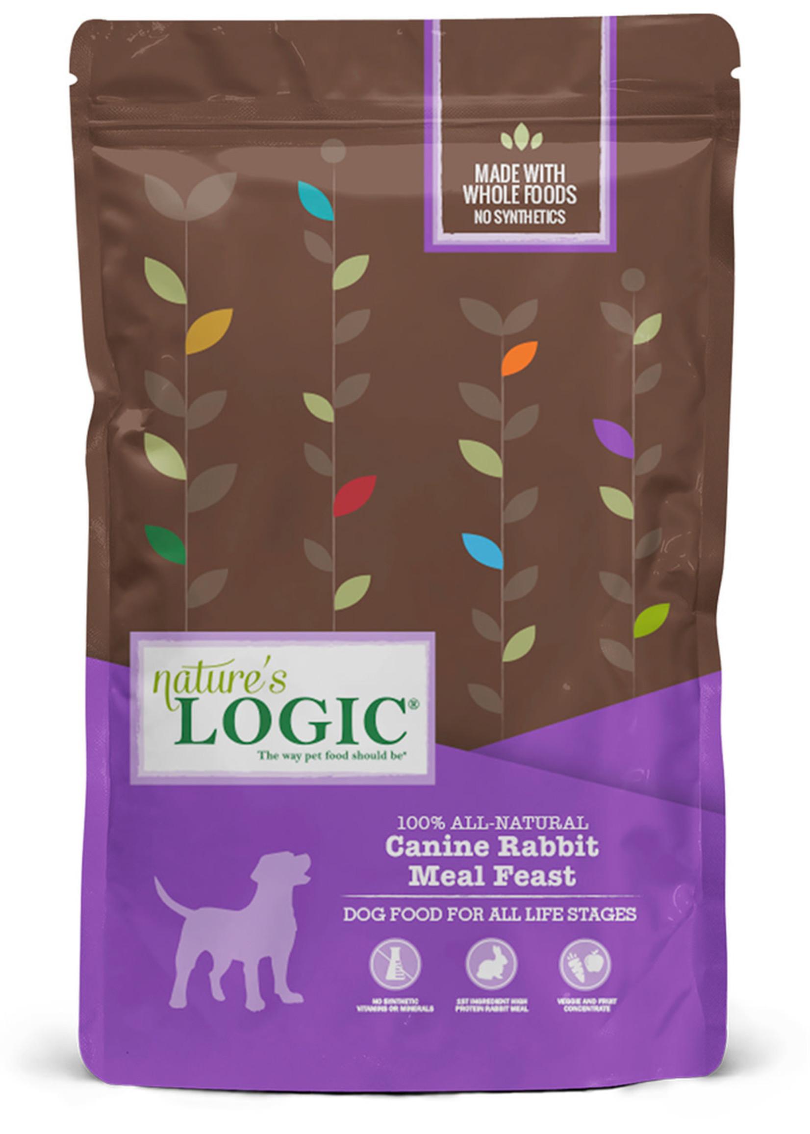 Nature's Logic Nature's Logic Rabbit Meal Feast Dry Dog Food 13lbs