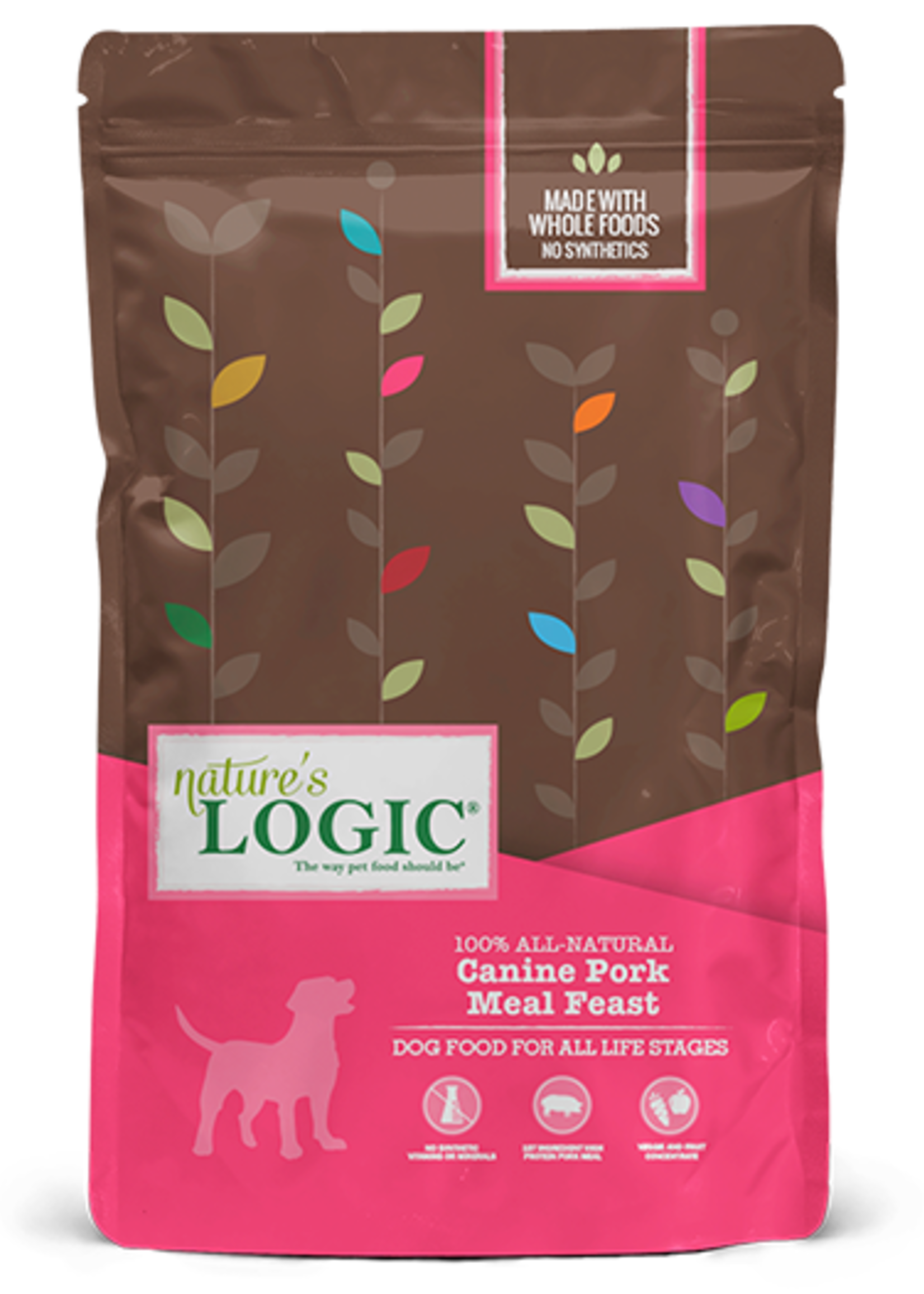 Nature's Logic Nature's Logic Pork Meal Feast Dry Dog Food 13lbs