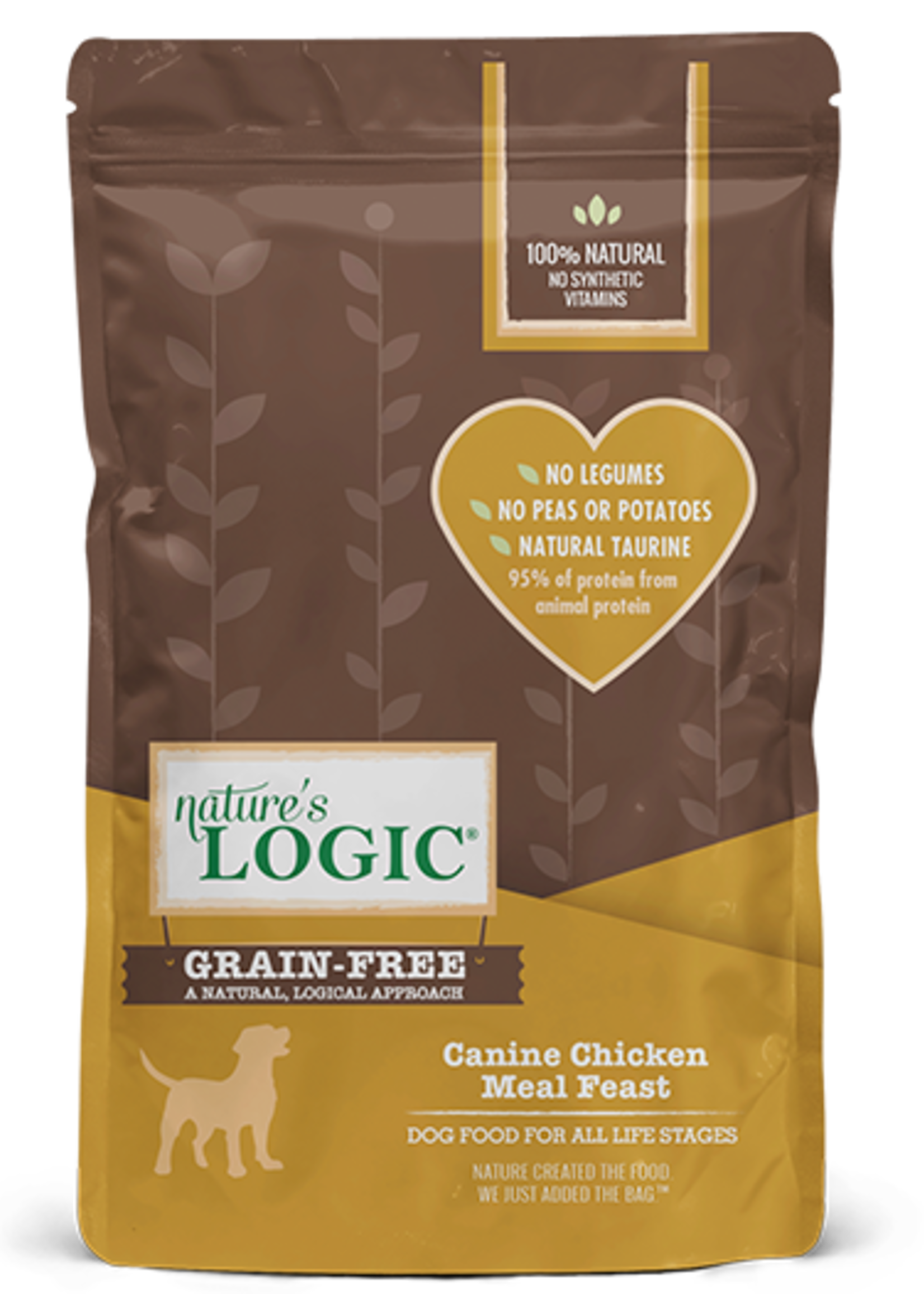 Nature's Logic Nature's Logic Canine Chicken Meal Feast Grain-Free Dry Dog Food 25lbs