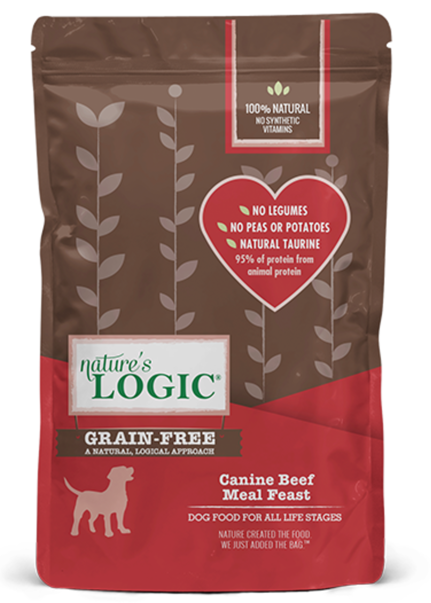 Nature's Logic Nature's Logic Canine Beef Meal Feast Grain-Free Dry Dog Food 4.4lbs