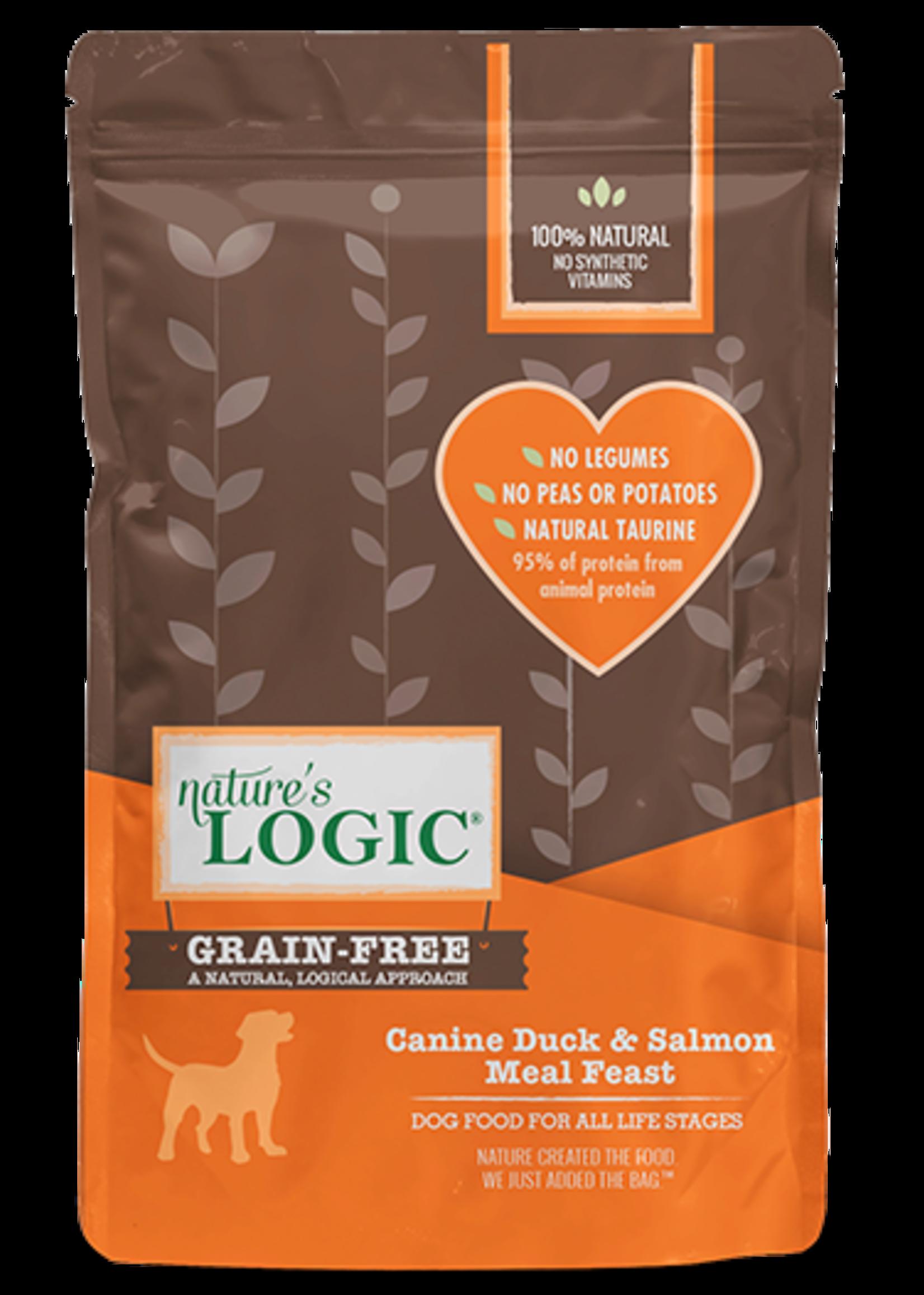 Nature's Logic Nature's Logic Canine Duck & Salmon Meal Feast Grain-Free Dry Dog Food 4.4lbs