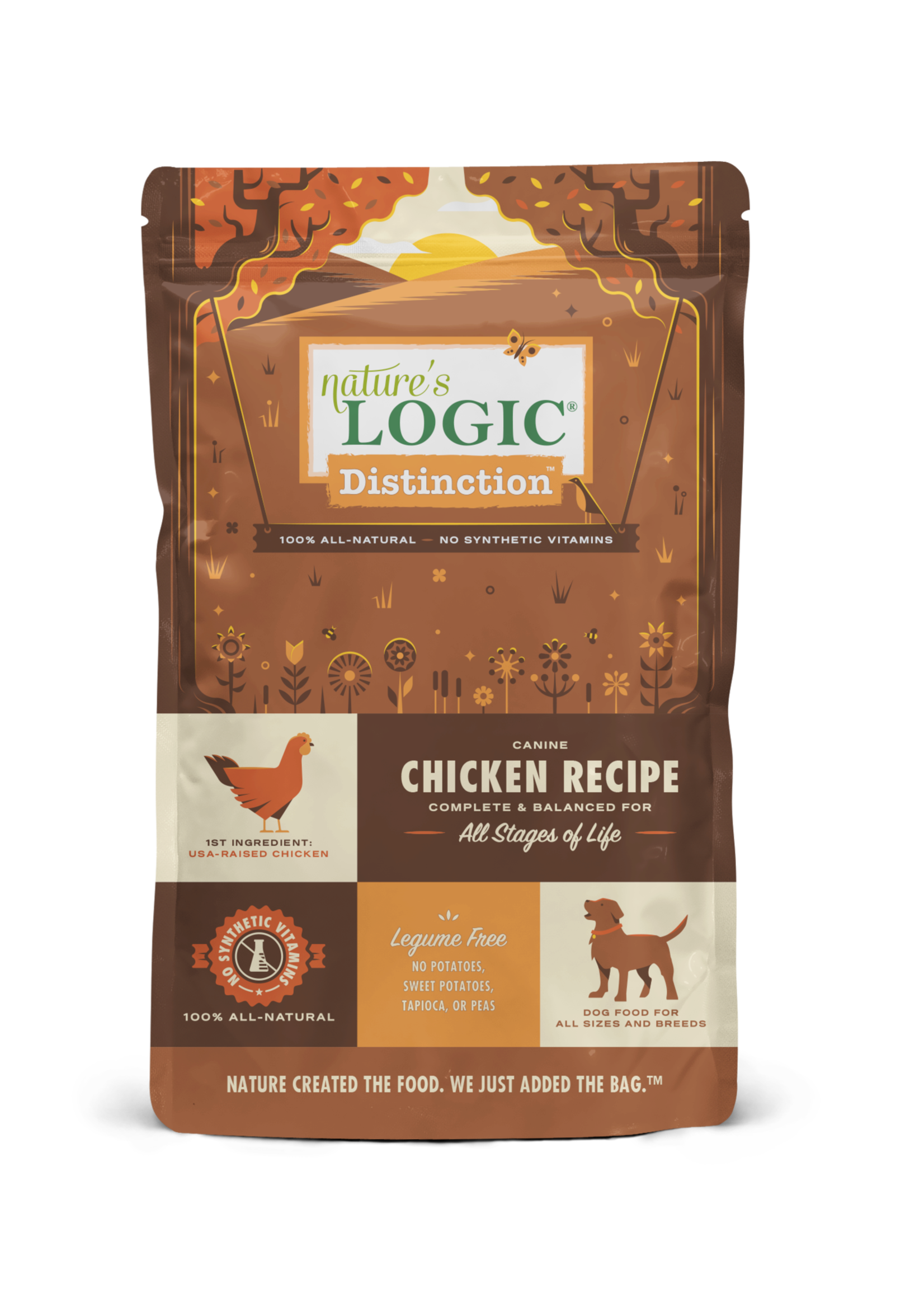 Nature's Logic Nature's Logic Distinction Chicken Dry Dog Food 4.4lbs