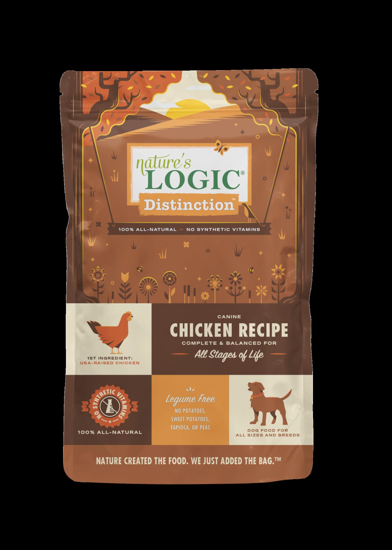 Nature's Logic Nature's Logic Distinction Chicken Dry Dog Food 24lbs