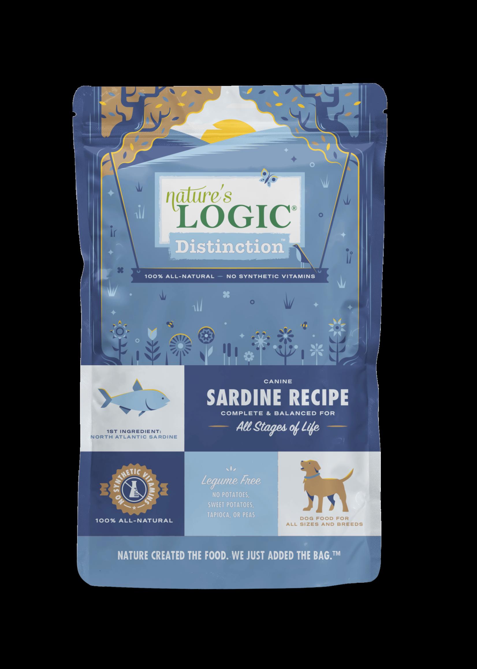 Nature's Logic Nature's Logic Distinction Sardine Dry Dog Food 4.4lbs
