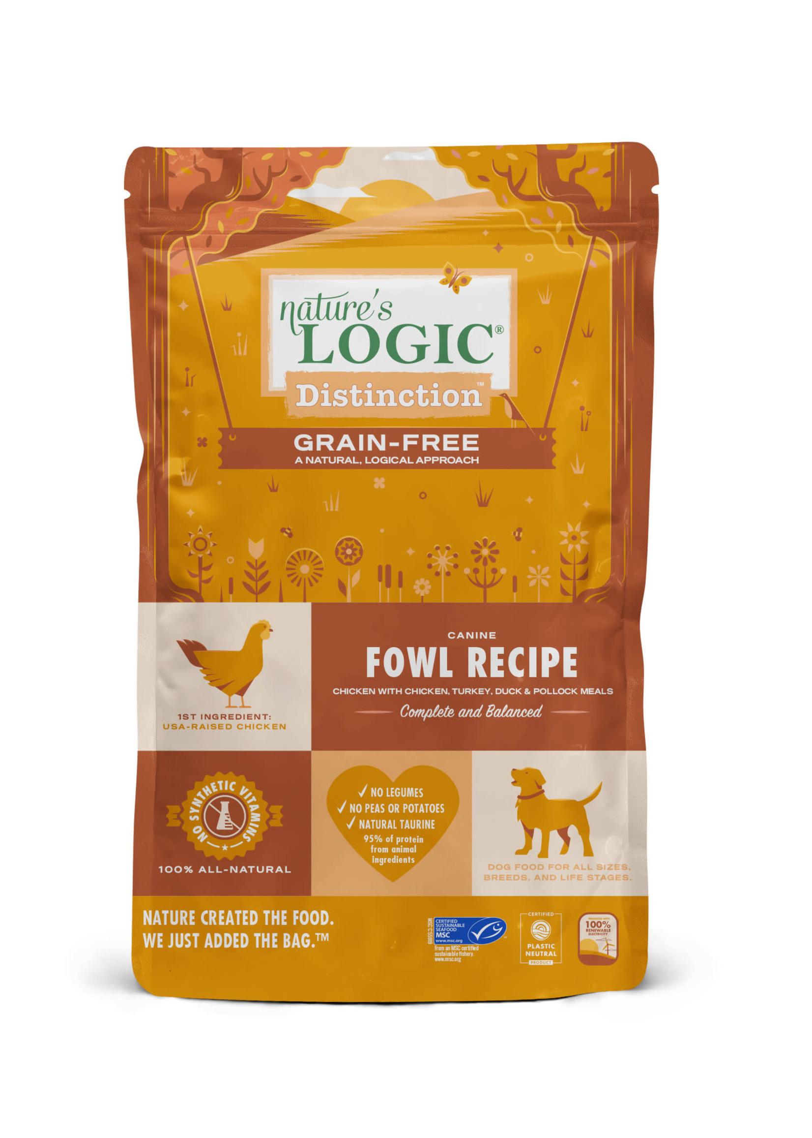 Nature's Logic Nature's Logic Distinction Grain-Free Fowl Dry Dog Food 4.4lbs