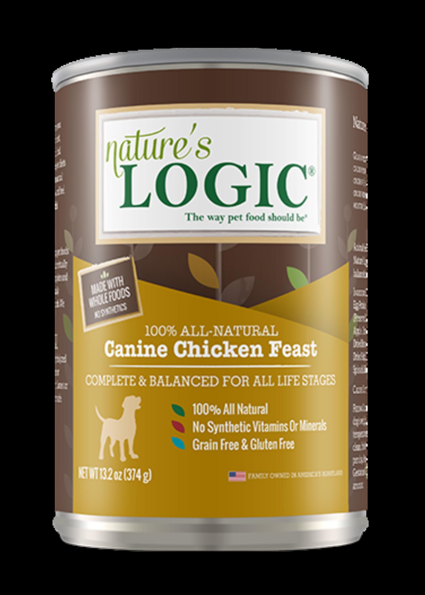 Nature's Logic Nature's Logic Chicken 13.2oz Wet Dog Food Case
