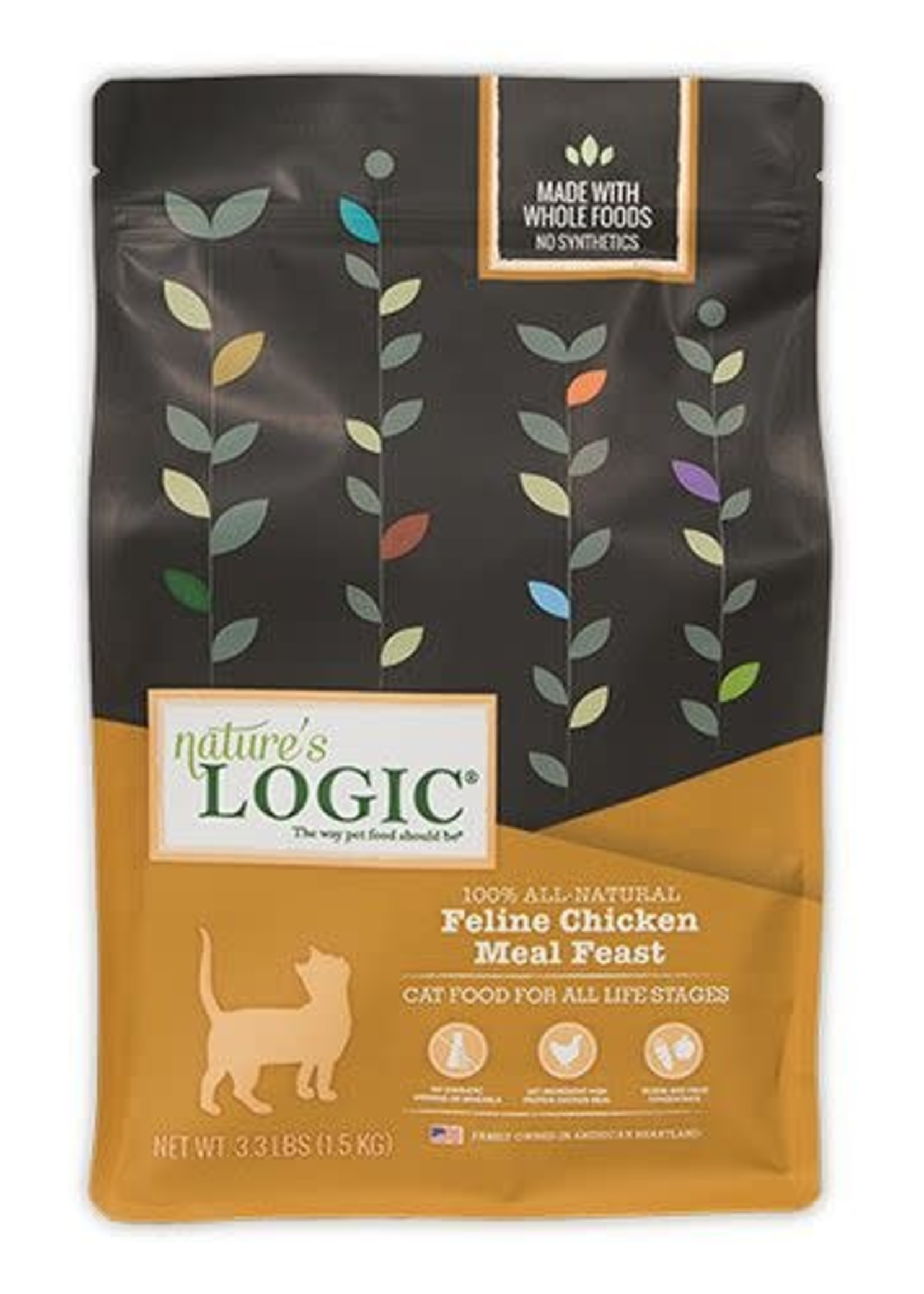 Nature's Logic Nature's Logic Chicken Dry Cat Food 15.4lbs