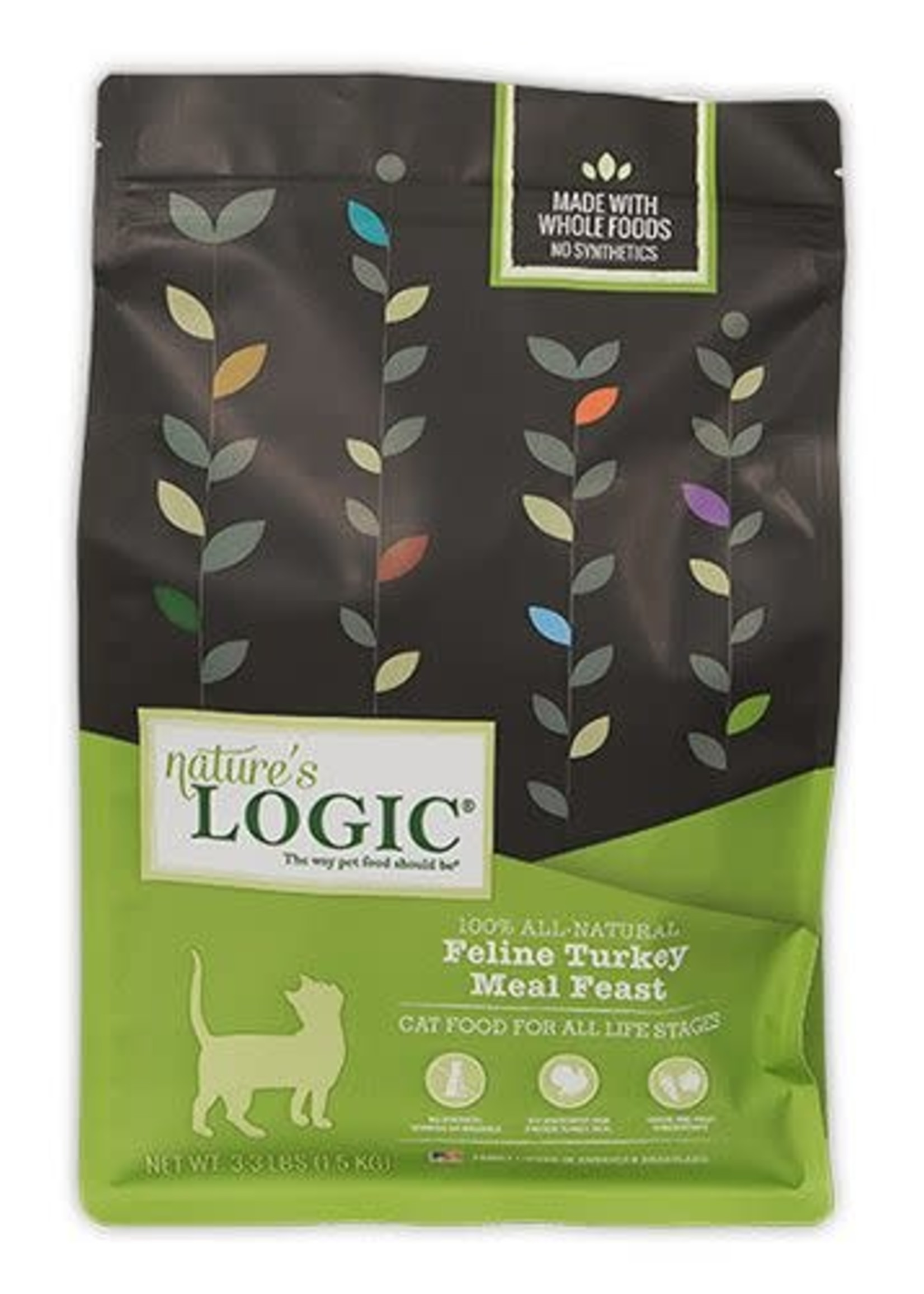 Nature's Logic Nature's Logic Turkey Dry Cat Food 3.3lbs