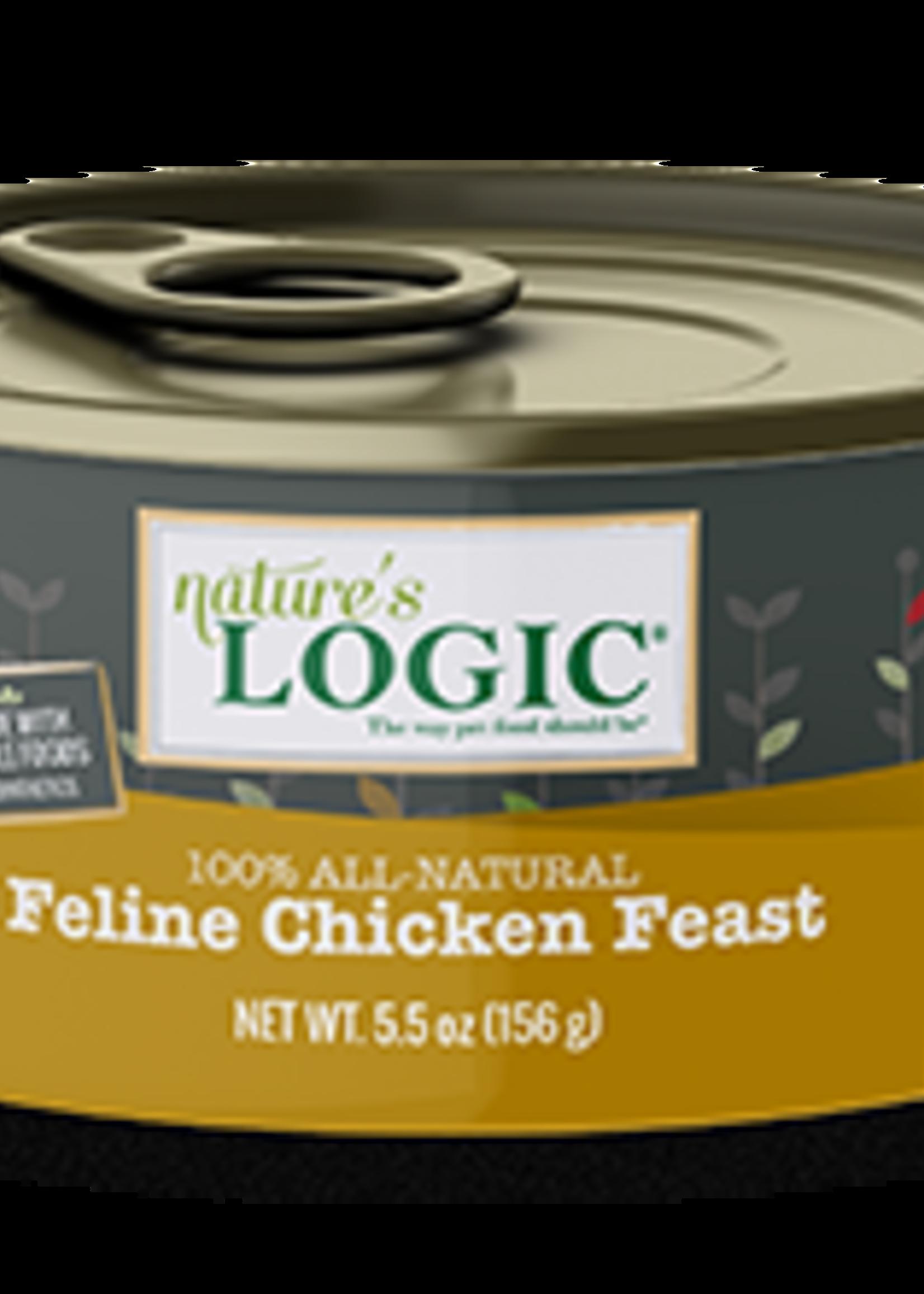 Nature's Logic Nature's Logic Chicken Wet Cat Food Case 5.5oz