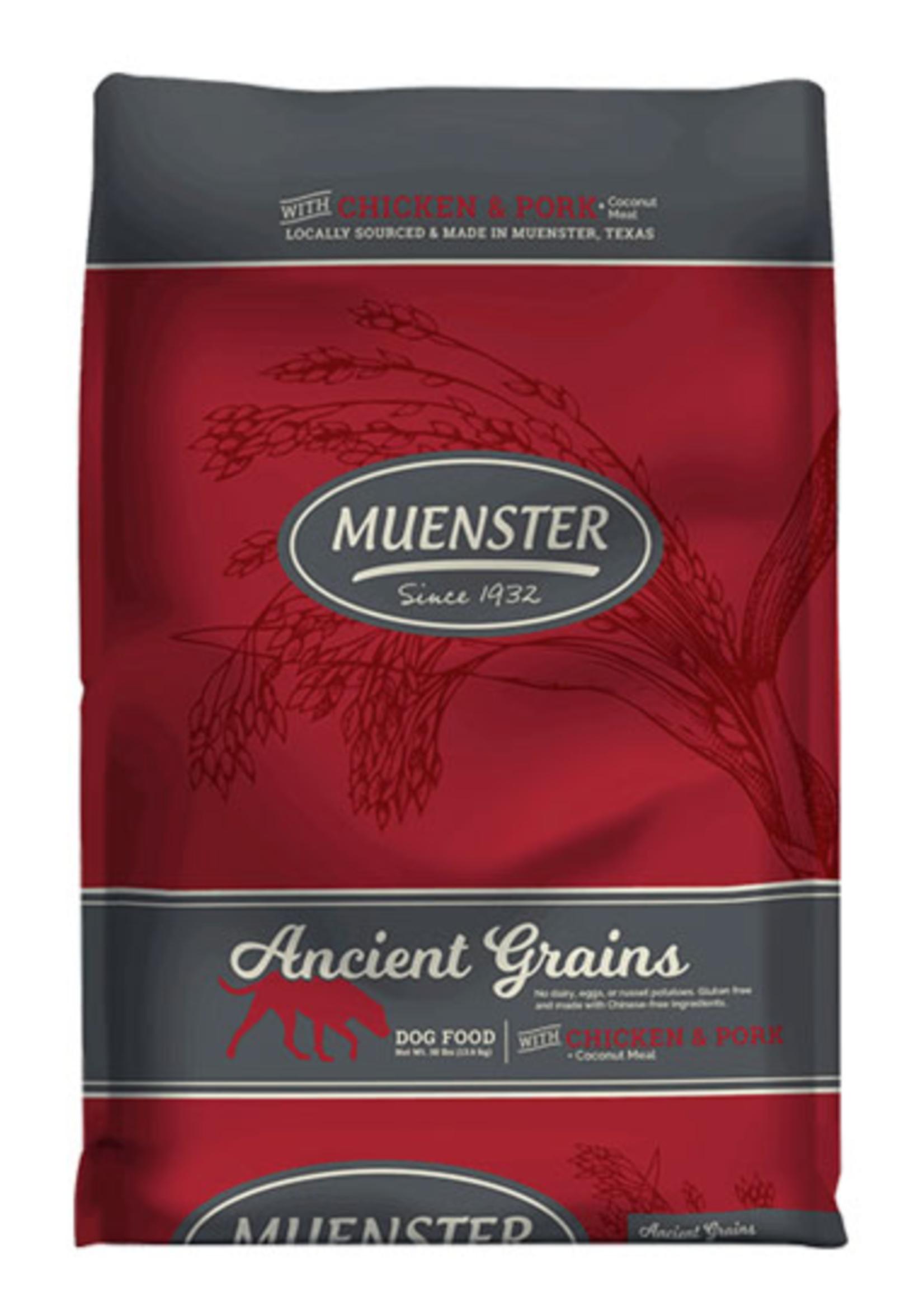 Muenster Milling Co Muenster Ancient Grains Chicken & Pork 30lbs