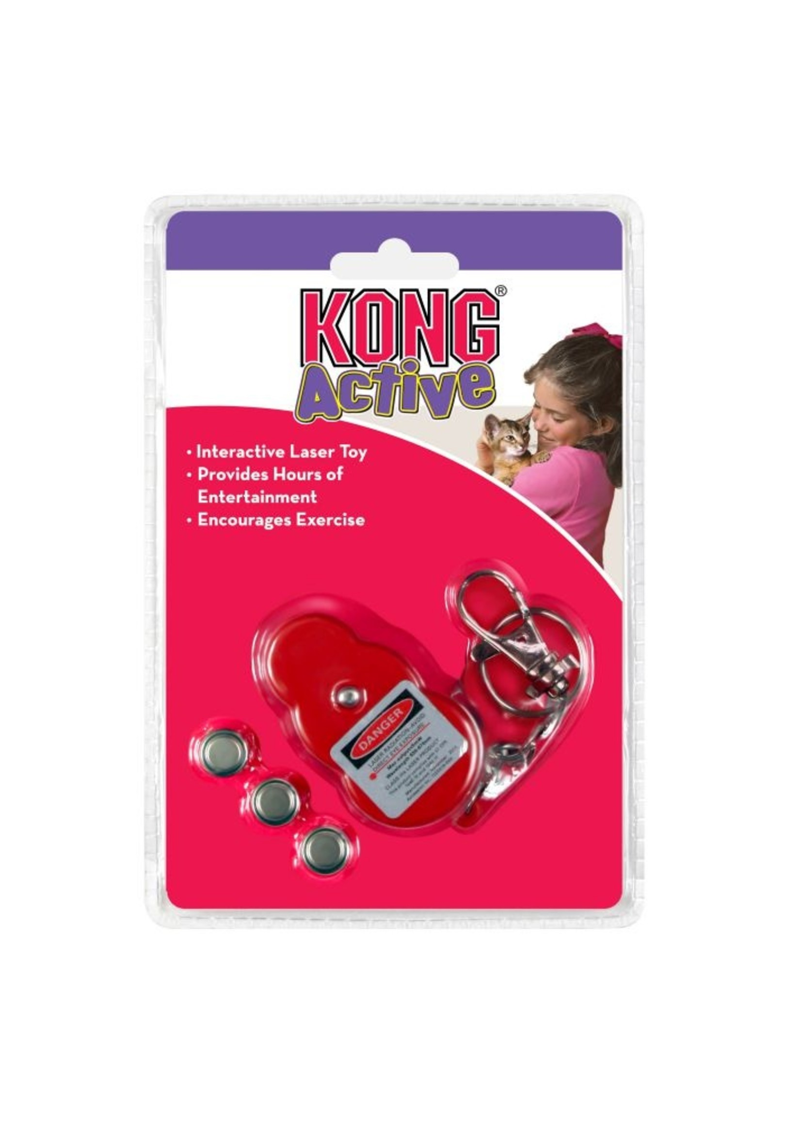 Kong Kong Cat Laser Pointer