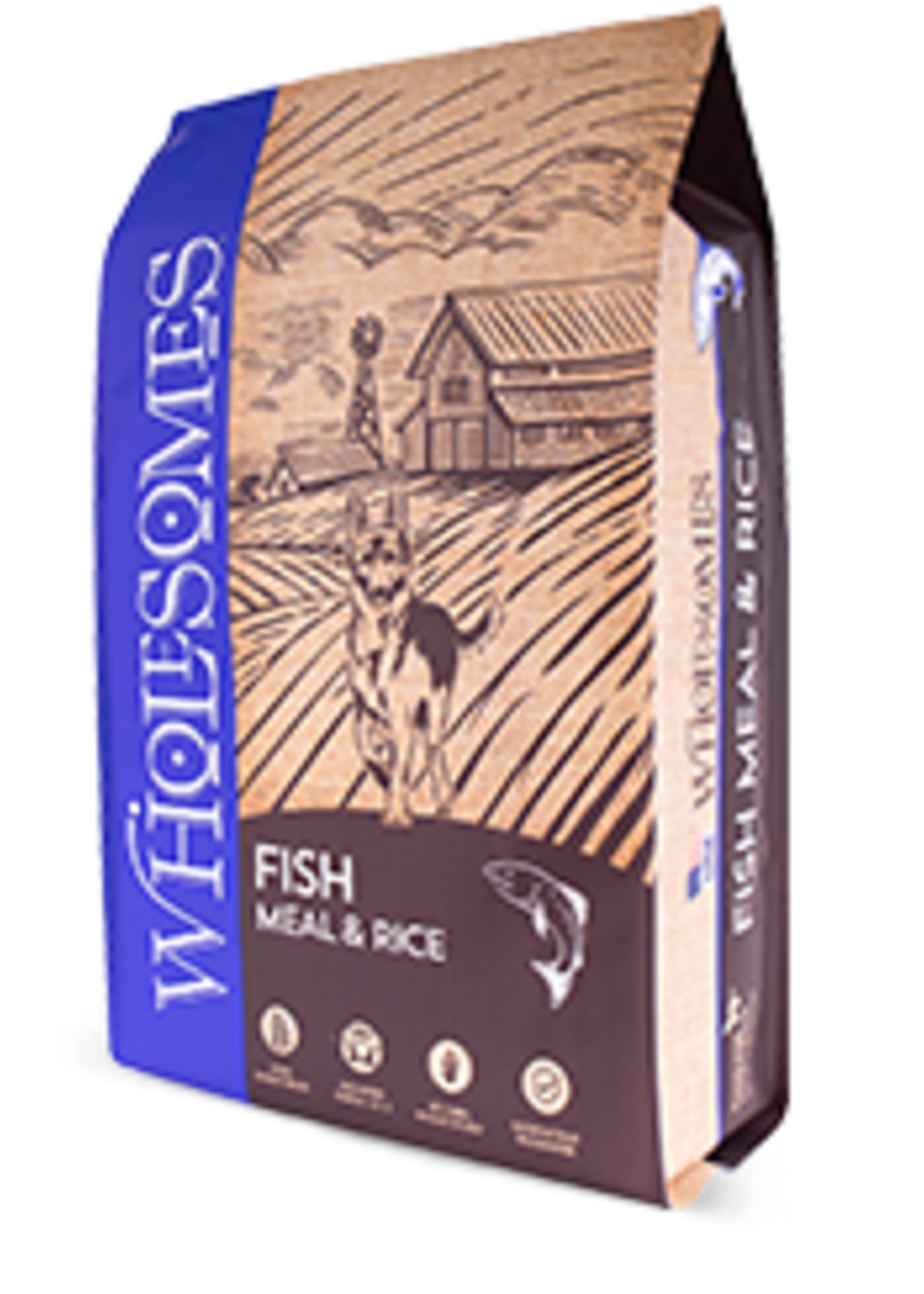 Wholesomes Wholesomes Fish & Rice 40lbs