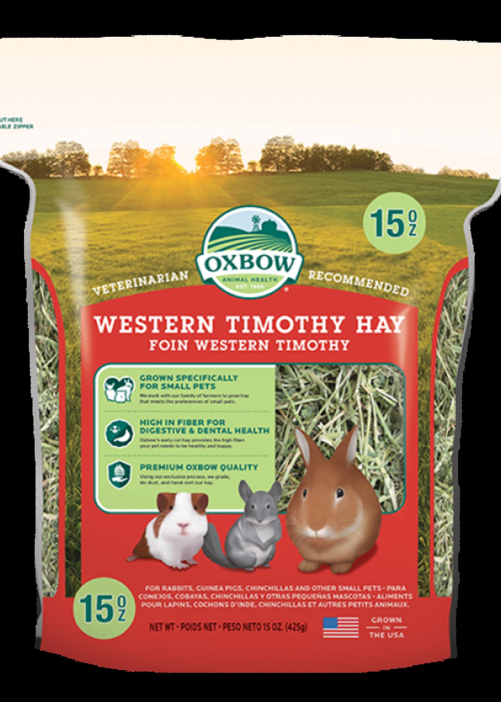 Oxbow Pet Products Oxbow Western Timothy Hay   15z