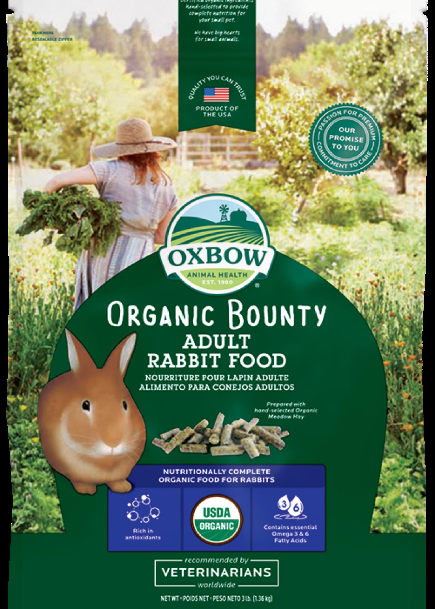 Oxbow Pet Products Organic Bounty Adult Rabbit Food 3 lb
