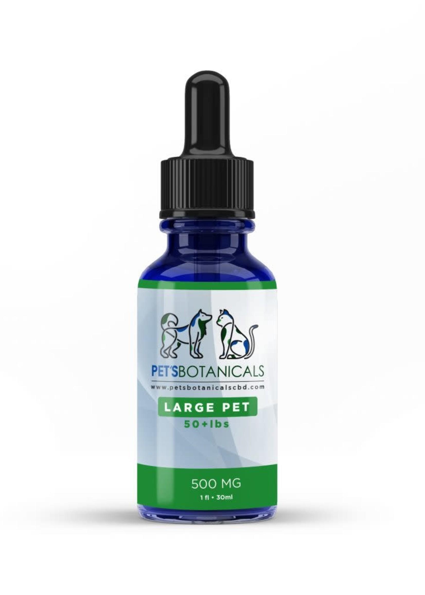 Pet's Botanicals Pet's Botanicals 500 mg Large Pet Formula over 50 Pounds