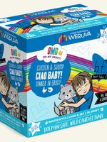 Weruva B.F.F. OMG Ciao Baby!  Wet Cat Food 2.8oz Case