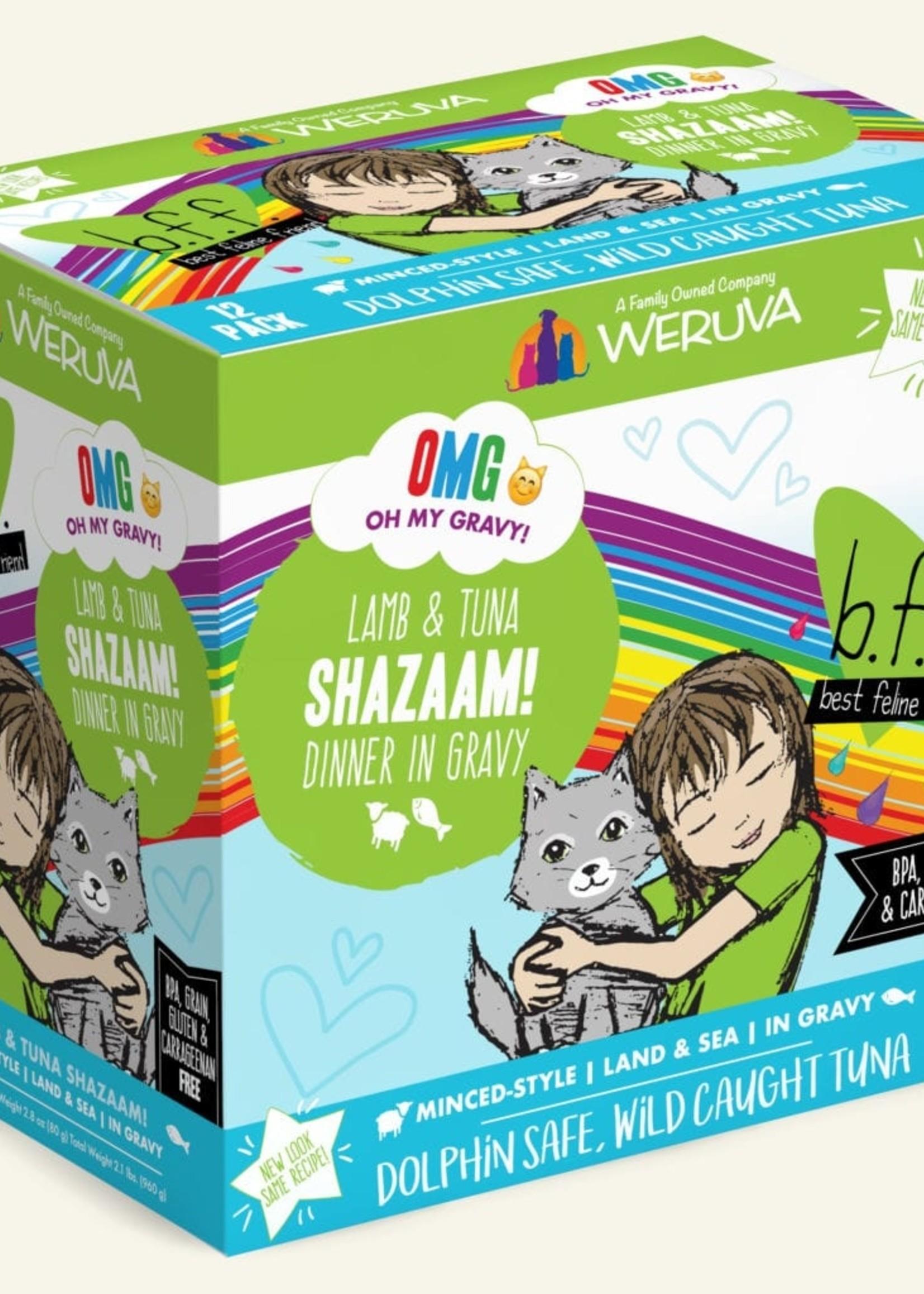 Weruva B.F.F. OMG Shazaam! Cat Food 2.8oz Case