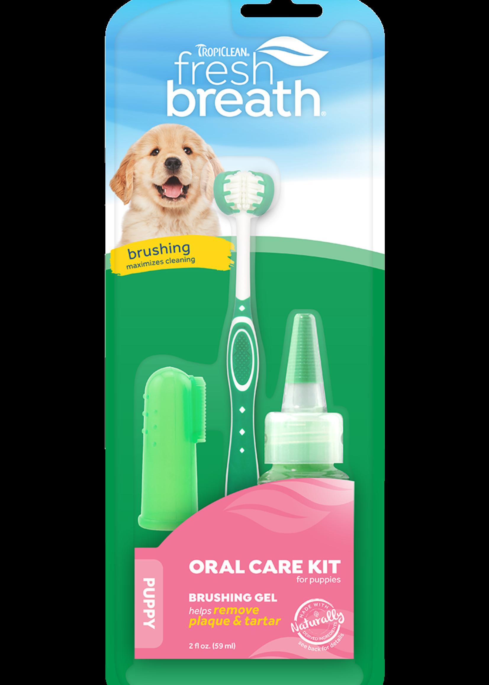 Tropiclean Tropiclean Fresh Breath Kit Dog Puppy 4 oz