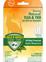 Tropiclean Tropiclean Flea & Tick Spot On Treatment Cat 3 pk