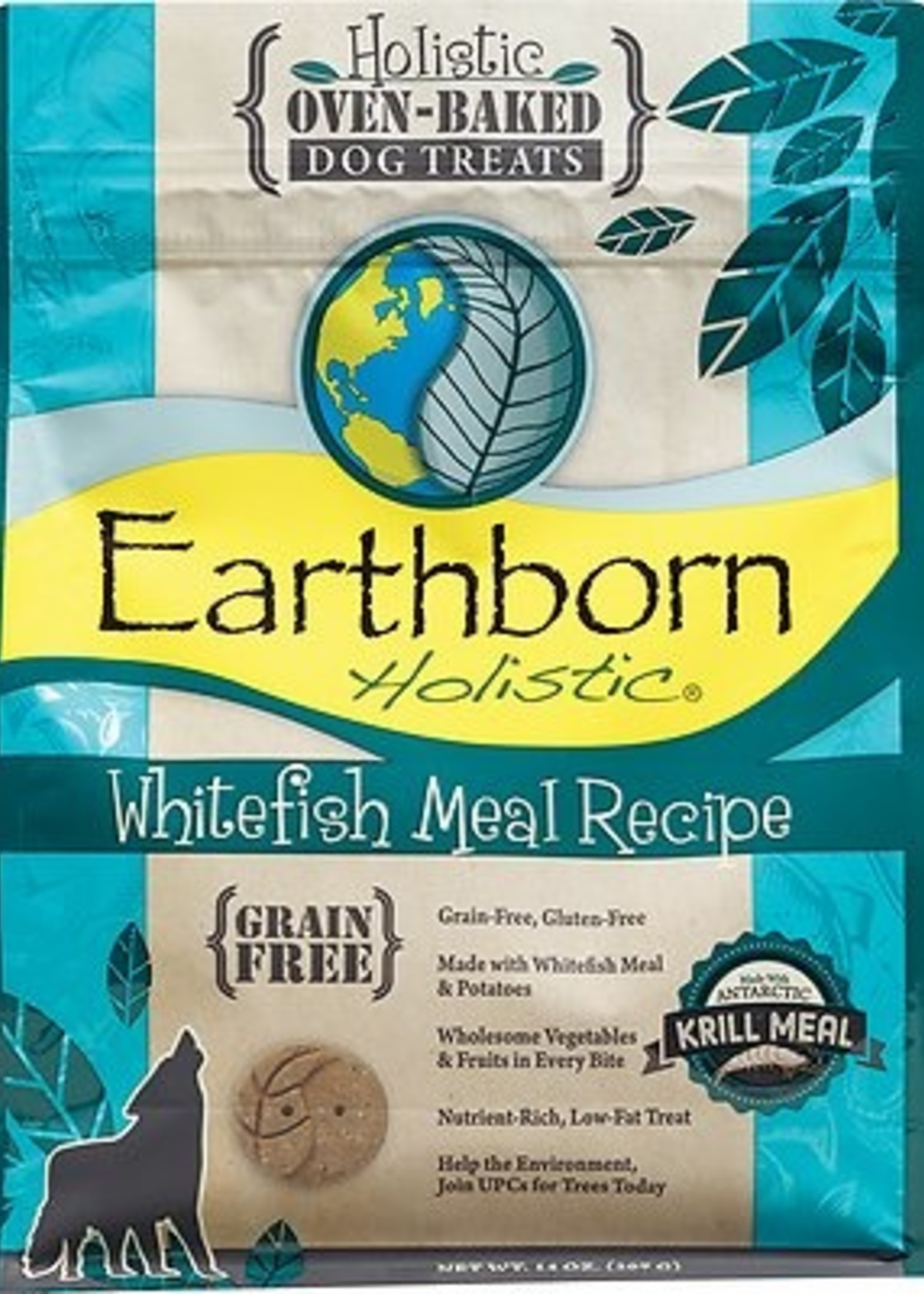 Midwestern Pet Earthborn Whitefish Biscuit 14 oz