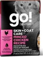 Petcurean Go! Sensitivities GF Minced Chicken  6.4 oz