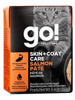 Petcurean Go! Sensitivities GF Salmon Pate  6.4 oz