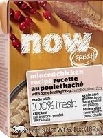 Petcurean Now! Cat Minced Chicken  6.4 oz
