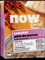 Petcurean Now! Cat Cod Pate  6.4 oz
