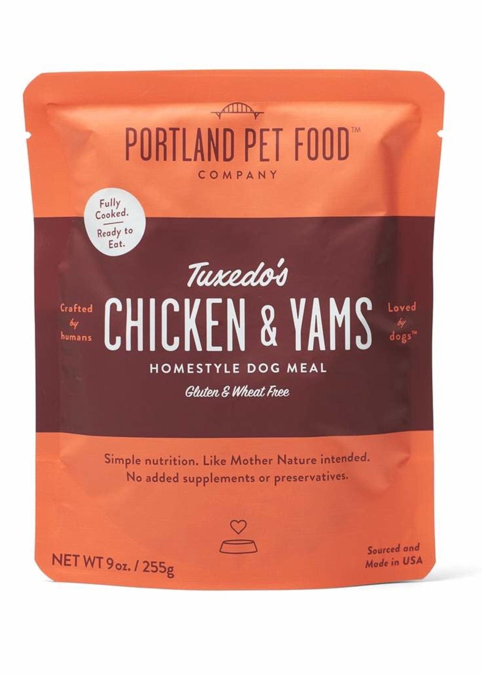Portland Pet Portland Pet Wally's Salmon n' Rice Homestyle Meal 9 oz