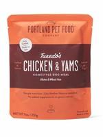 Portland Pet Portland Pet Tuxedo's Chicken & Yams Homestyle Meal 9 oz