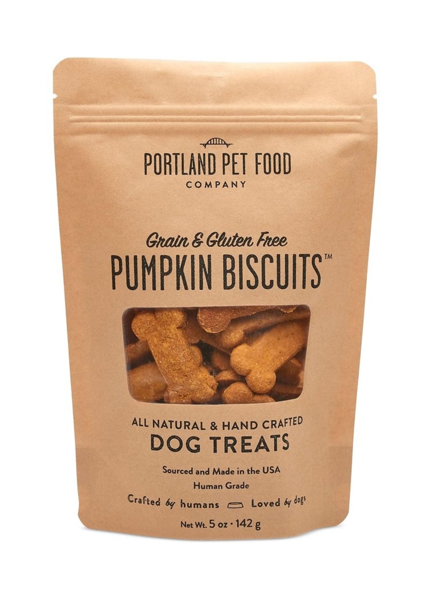Portland Pet Food Company Portland Pet Gluten Free Biscuits  Pumpkin 5 oz