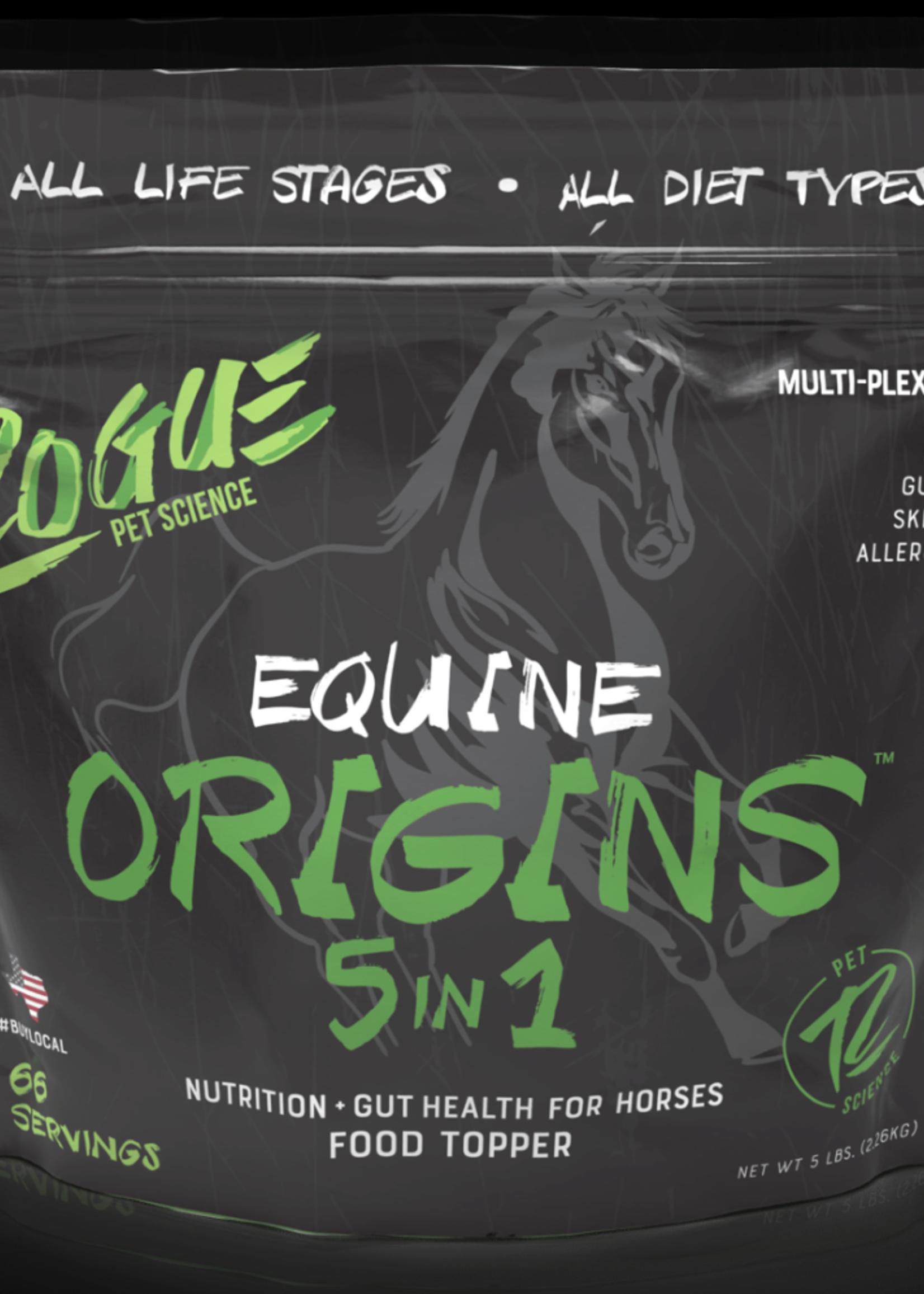 Rogue Pet Foods Rogue Origins 5 in 1 Complex Equine 5 lbs