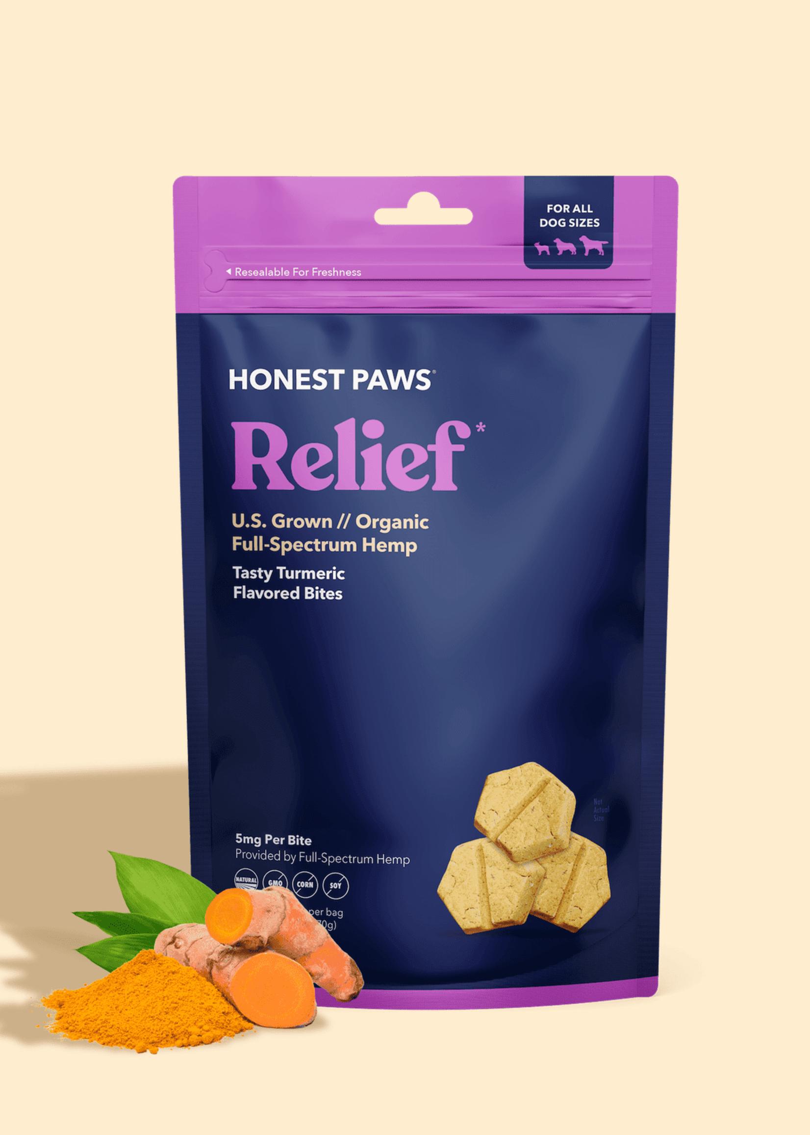 Honest Paws Honest Paws Relief Crunchy 5mg