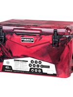 Pierce Arrow Cooler 45qt Red Camo