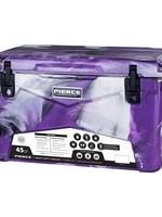 Pierce Arrow Cooler 45qt Purple Camo