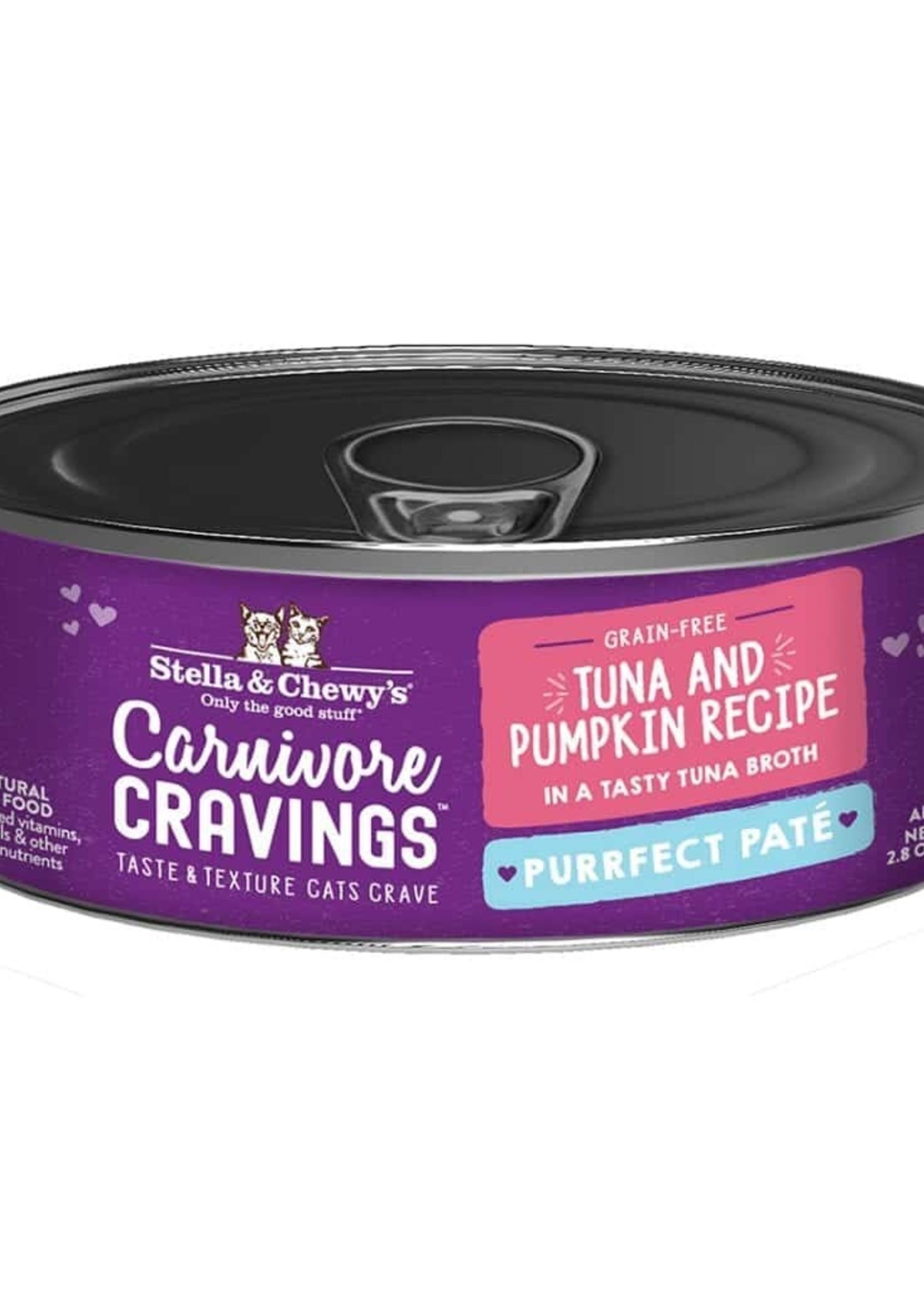 Stella & Chewy's Stella & Chewy's Pate Tuna & Pumpkin 8/5.2 oz Case