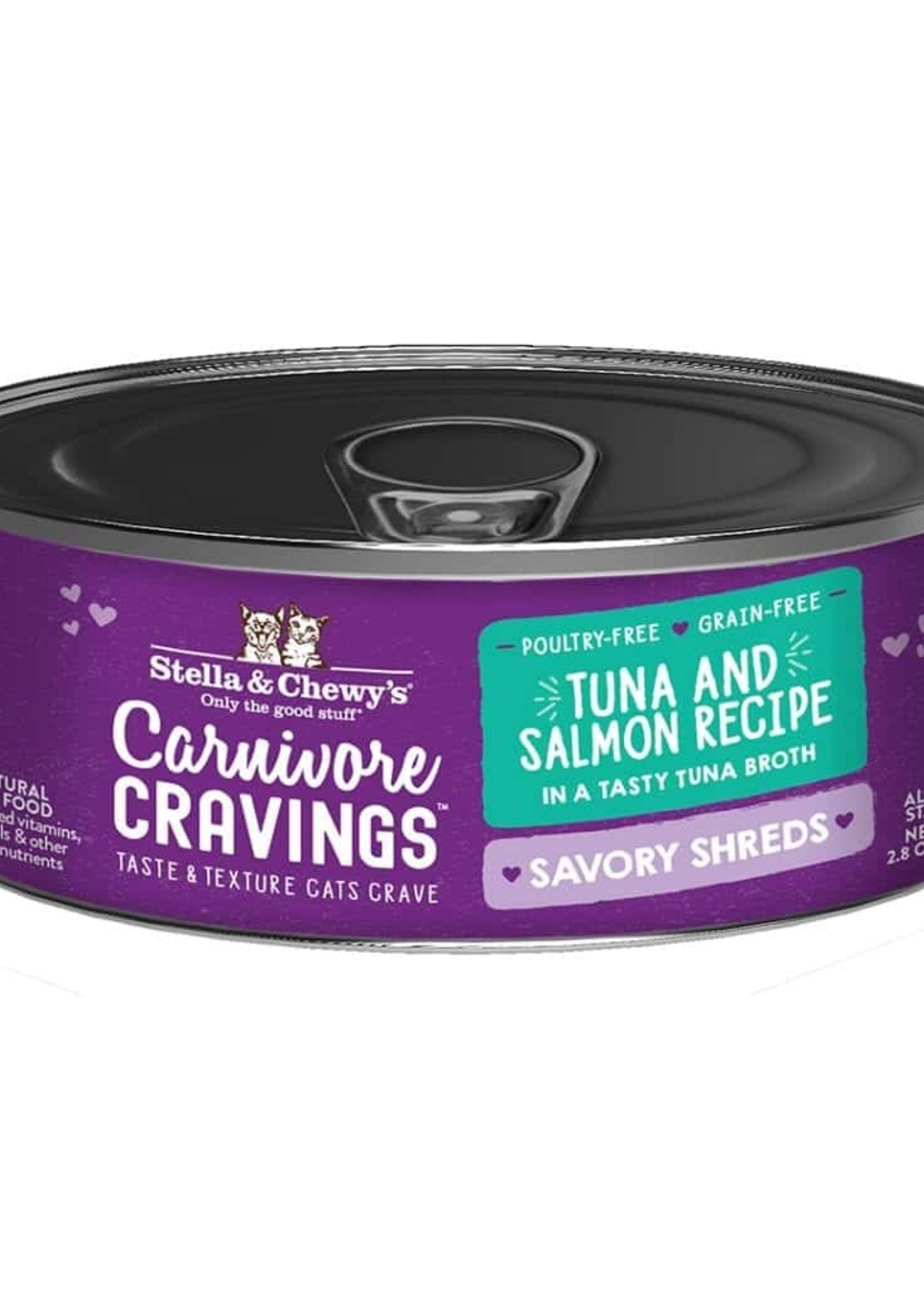 Stella & Chewy's Stella & Chewy's Shreds Tuna & Salmon 5.2 oz