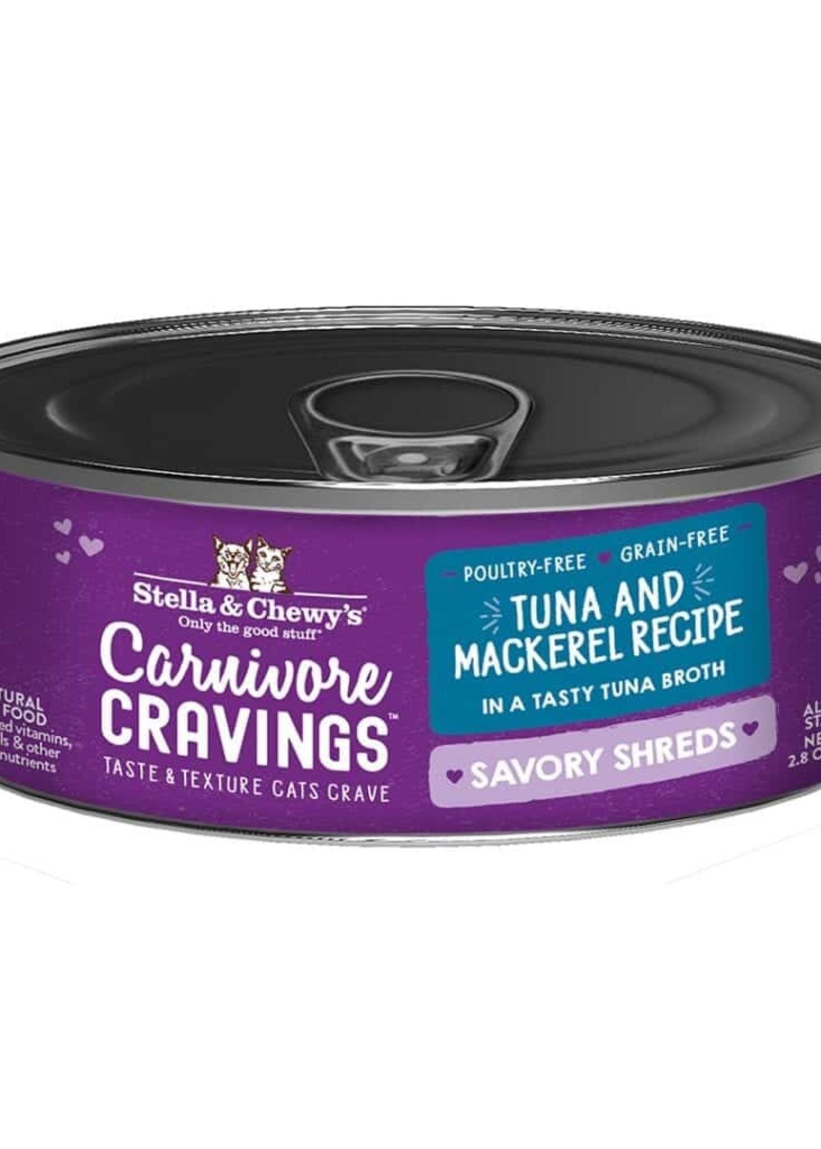 Stella & Chewy's Stella & Chewy's Shreds Tuna & Mackerel 5.2 oz
