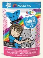 Weruva B.F.F. OMG Charm Me Tuna & Chicken in Gravy Wet Cat Food 3oz Pouch