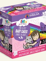 Weruva B.F.F. OMG Baby Cakes Wet Cat Food 3oz Case