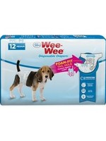 Wee Wee Wee Wee Disposable Dog Diapers Medium