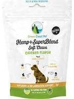 Green Coast Pet Green Coast Pet Hemp Super Blend Chicken 3.17oz