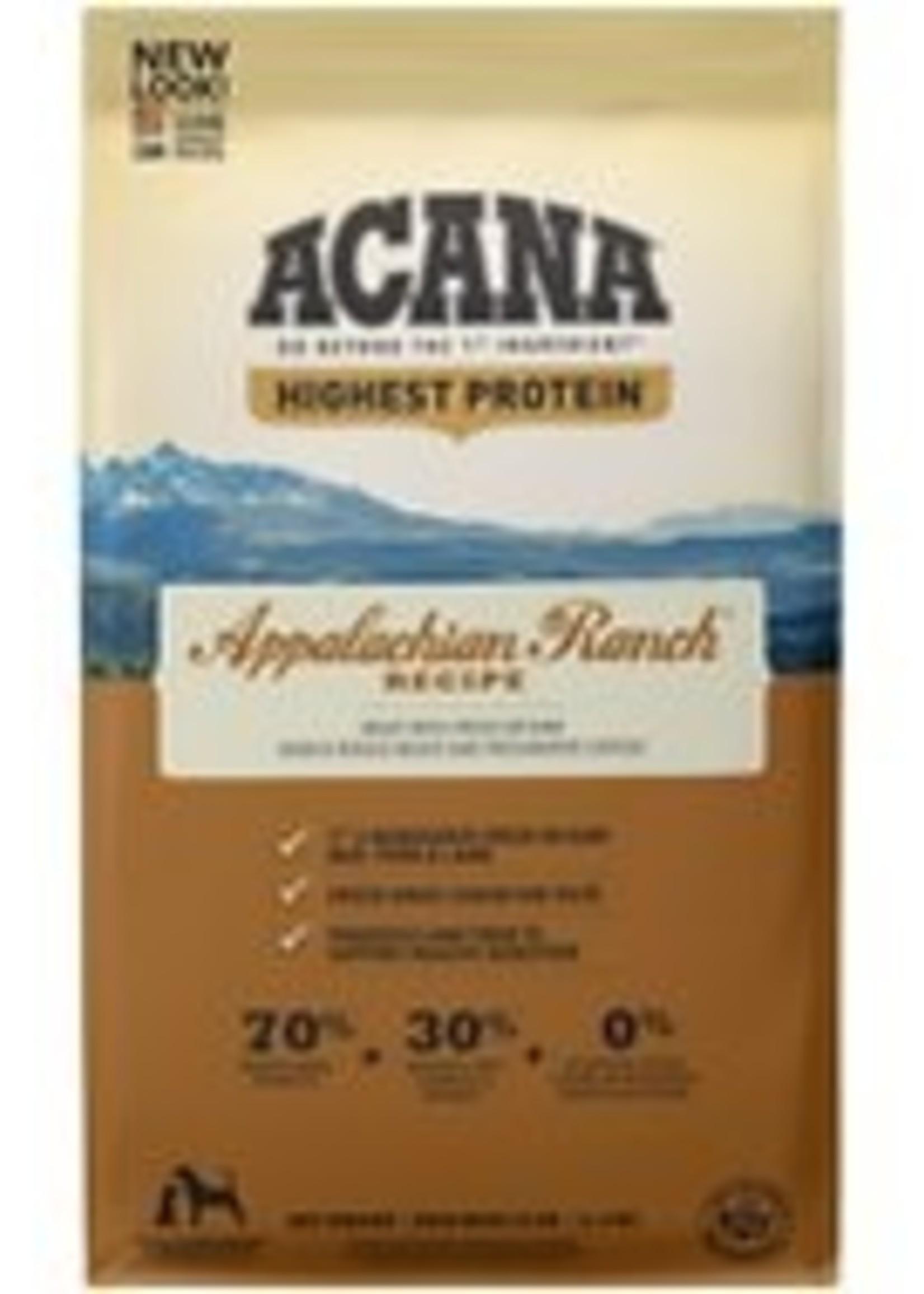 Acana Acana Appalachian Ranch Dry Dog Food 25lb