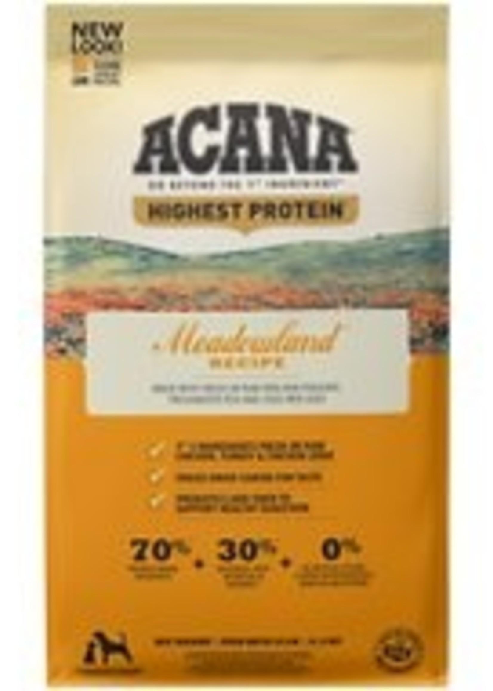 Acana Acana Meadowlands Dry Dog Food 25lb