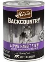 Merrick Backcountry Alpine Rabbit Stew 12.7 oz.
